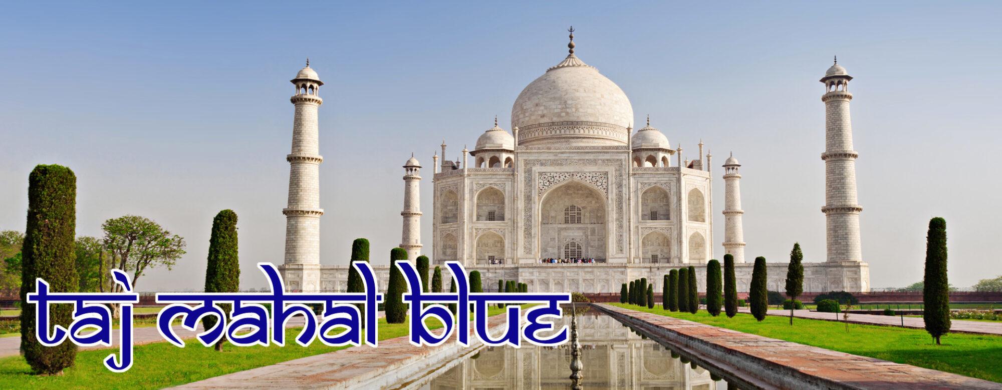 Taj Mahal Blue